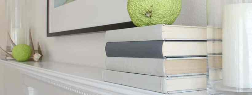 Display painted books.