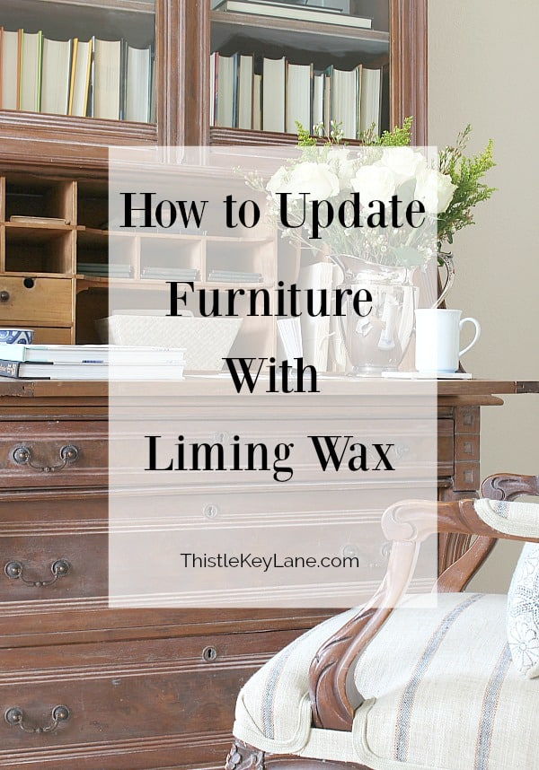 Transform a piece of furniture with liming wax to bring out the wood grain and character of carved details.