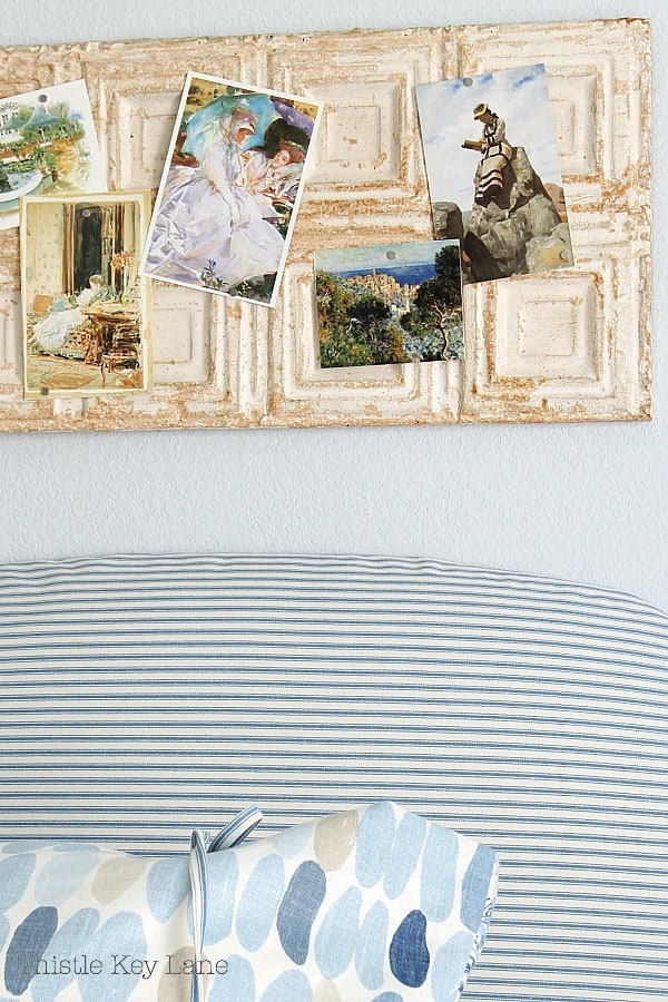 How To Make A Headboard Slipcover.