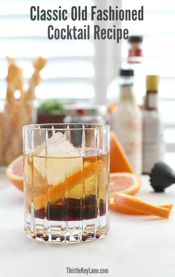 Simple Old Fashioned Cocktail Recipe