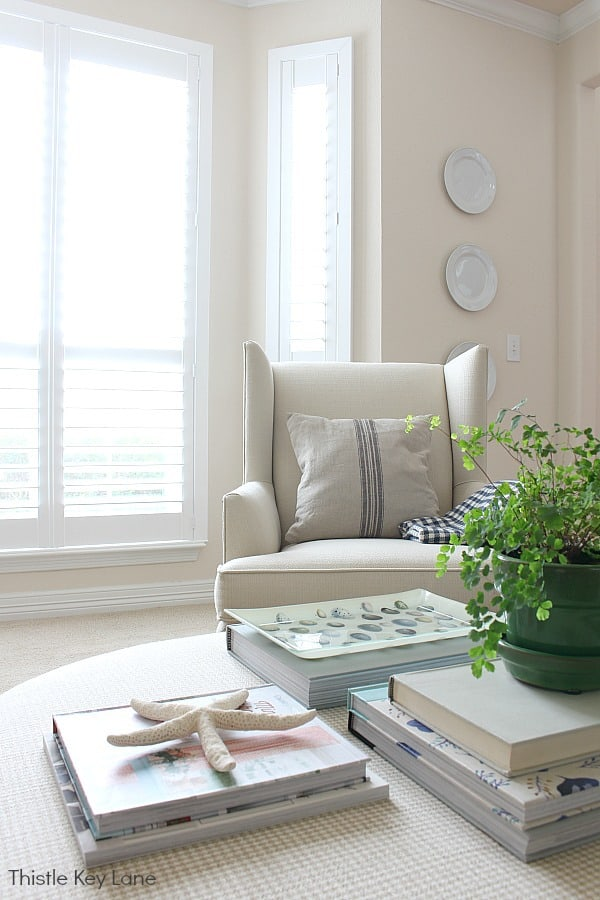 Spring Decorating Ideas For An Ottoman