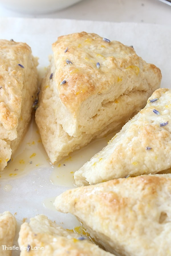 Lavender and Honey Scone Recipe - for a special treat.