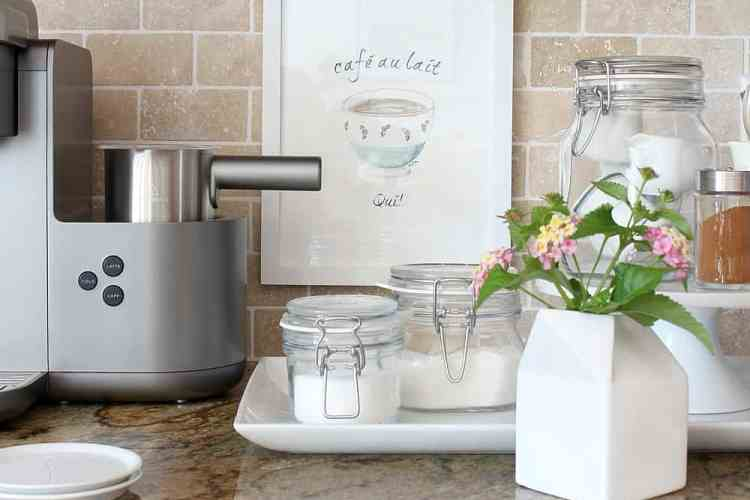 Organizing A Coffee Station And A Free Printable