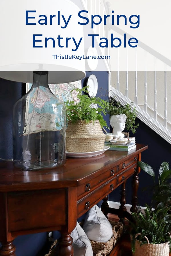 Early Spring Entry Table