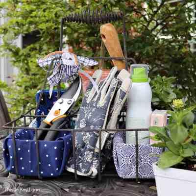 DIY Garden Tool Caddy