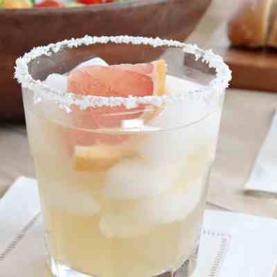 Elderflower Grapefruit Margarita Cocktail Recipe