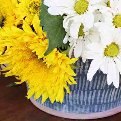 Early Fall Tablescape With Sunflowers