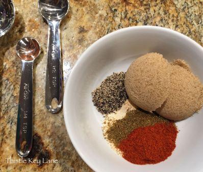Spicy Rub for roast beef sliders