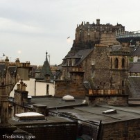 View of Edinburgh Castle from The Outsider