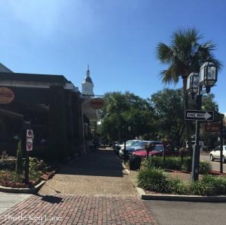 Beautiful view of the street in Fernandina Beach