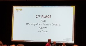 Thistle Rennet Cheese wins second place