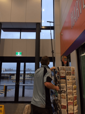 High commercial window cleaning service Perth.