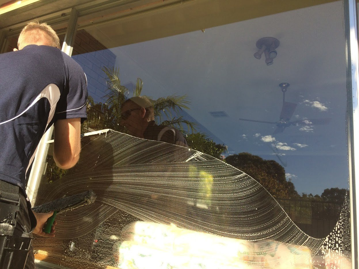 Winter window cleaning Perth phone number.