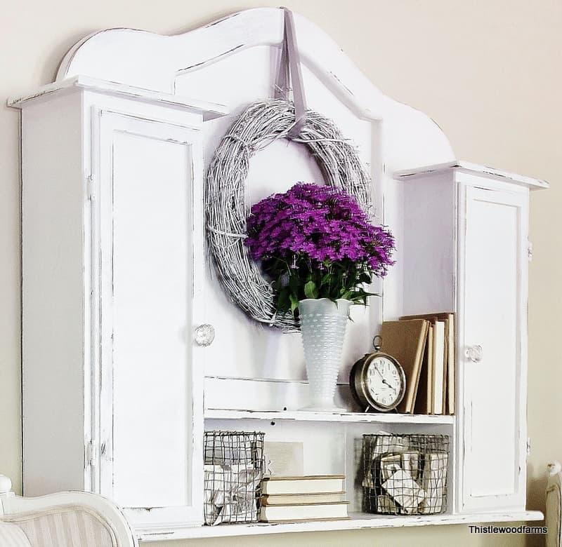 Distressed White Furniture