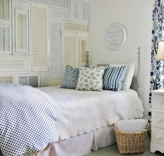 how-to-make-a-shutter-wall-bedroom