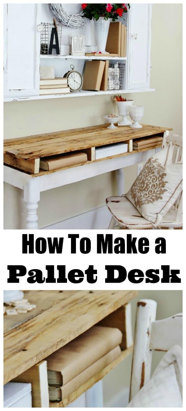 how-to-make-a-pallet-desk