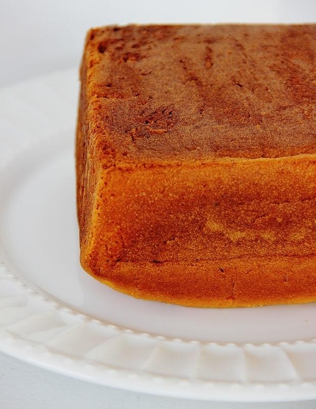 Step 1- bake the cake