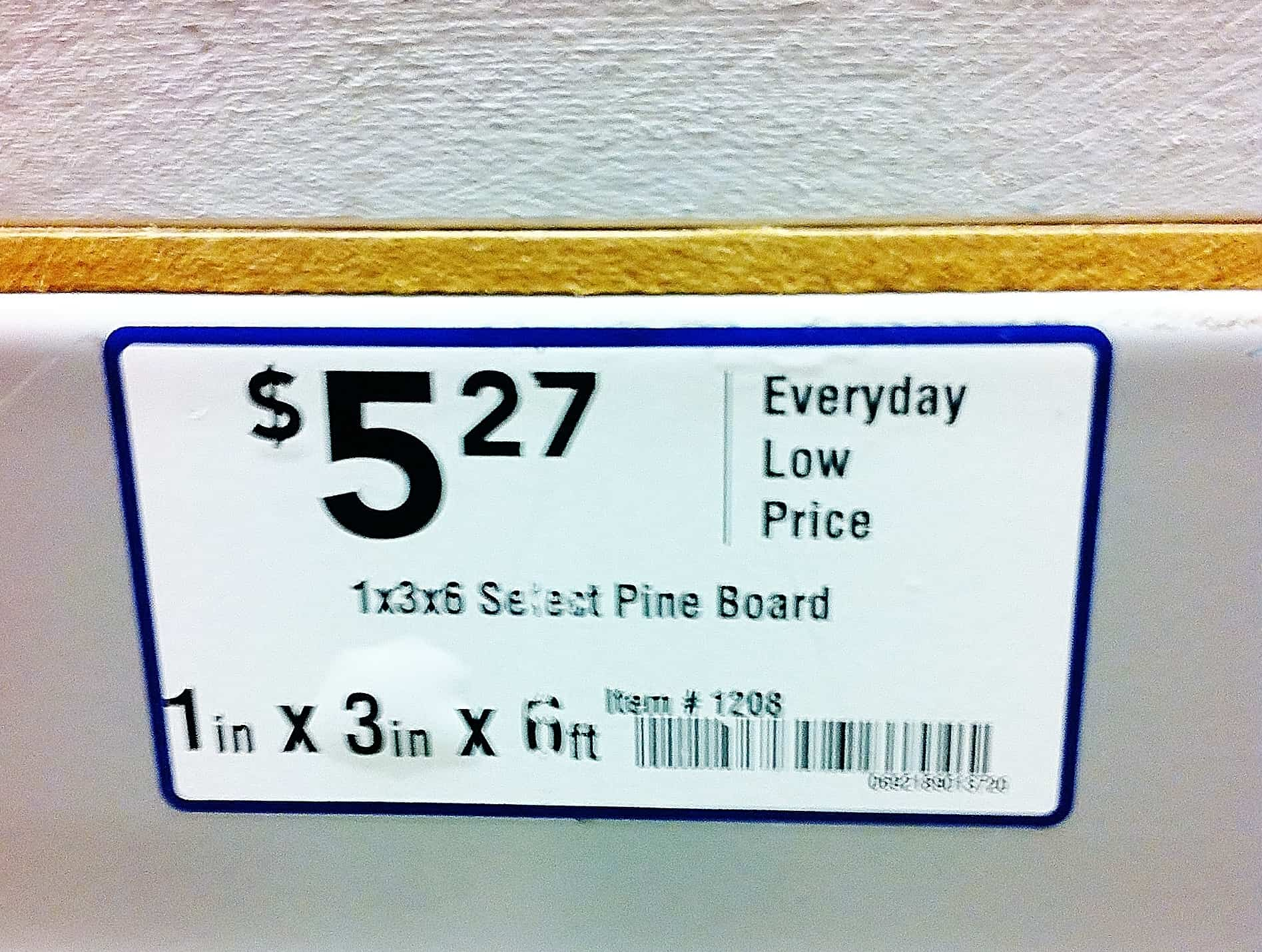 Boards for Wooden Shelf