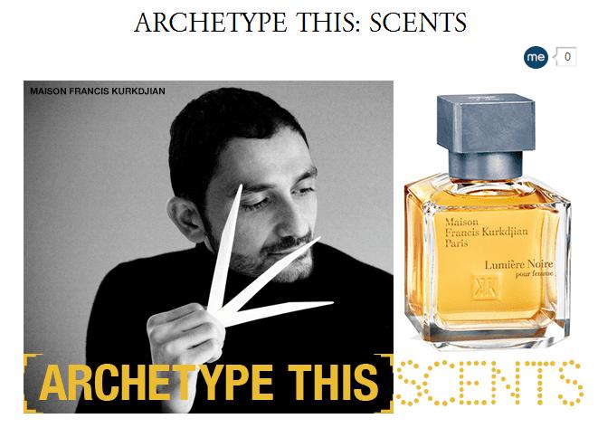 Archetype scents