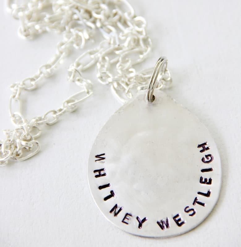 How to make your own spoon necklace