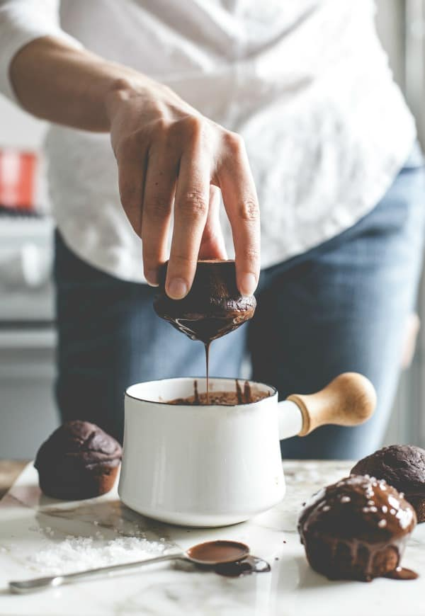 Salted Cocoa Nutella Cupcakes 8
