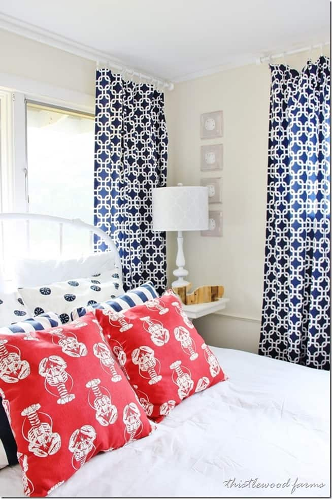 cape cod inspired bedroom
