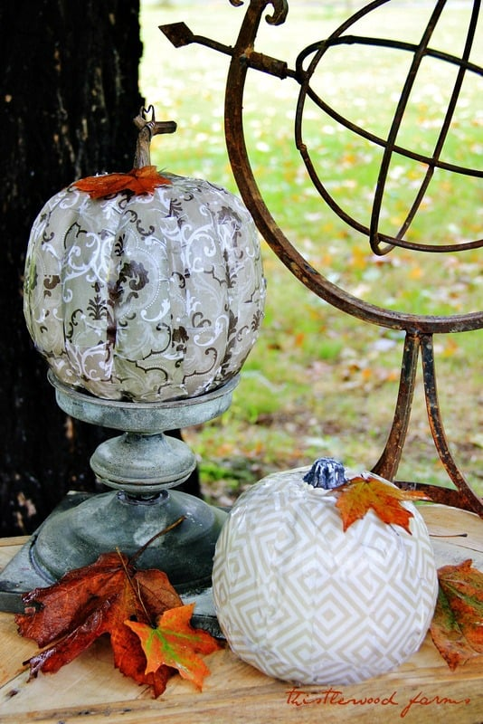 Decorative Pumpkin Thistlewood