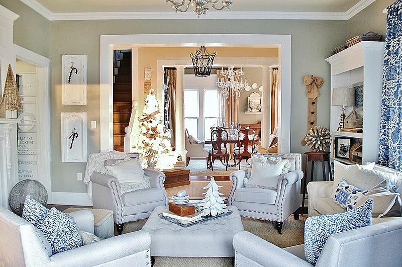 Christmas decorating 2014