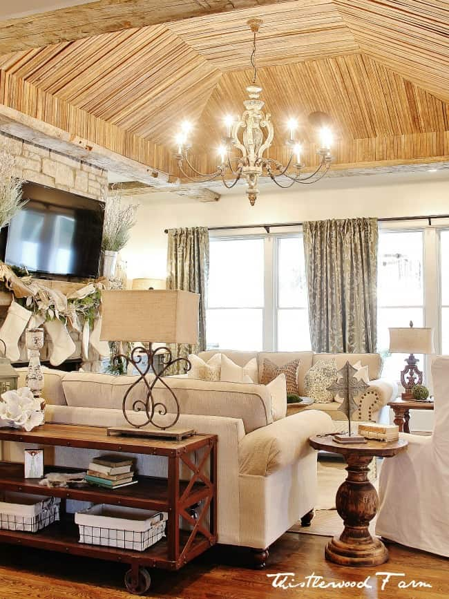 It's All About That Ceiling and 10 Simple Holiday ... on Pictures For Room Decor  id=50625