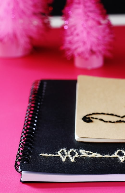 Hand-Stitched Notebook project