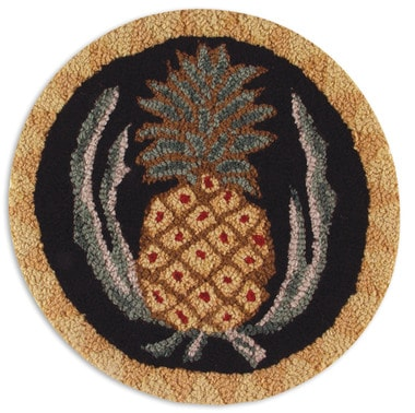 pineapple chair pad