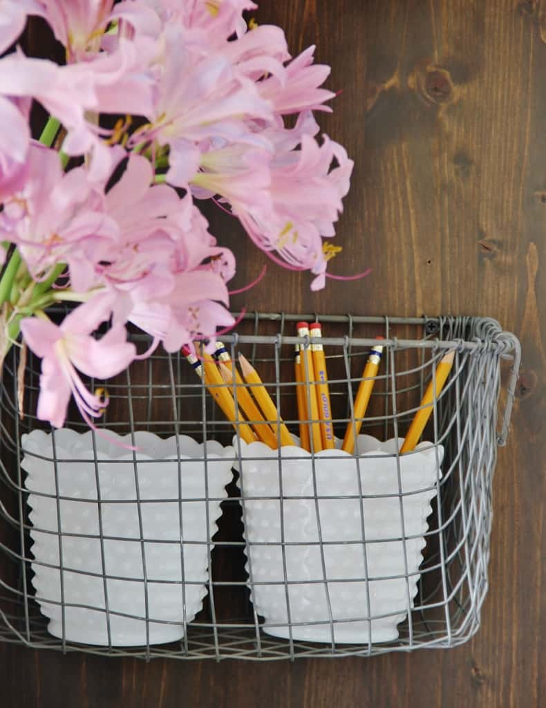 Industrial Farmhouse Organizer Wire Baskets