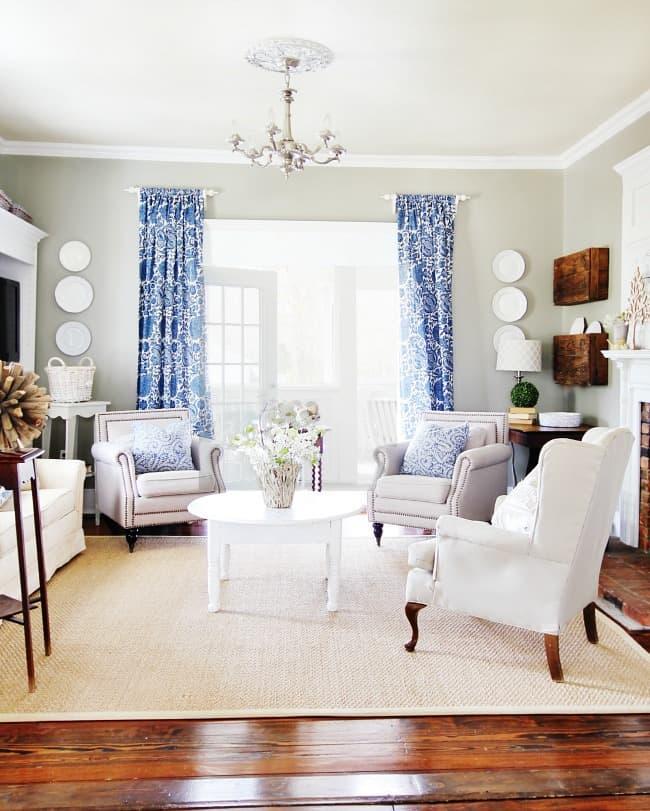 living room spring tour