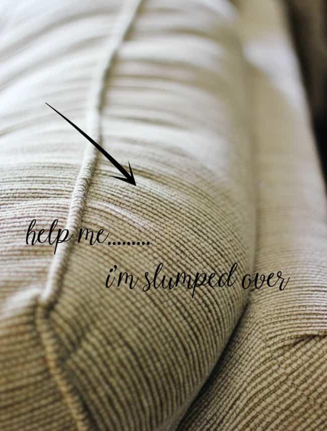 couch cushion fix