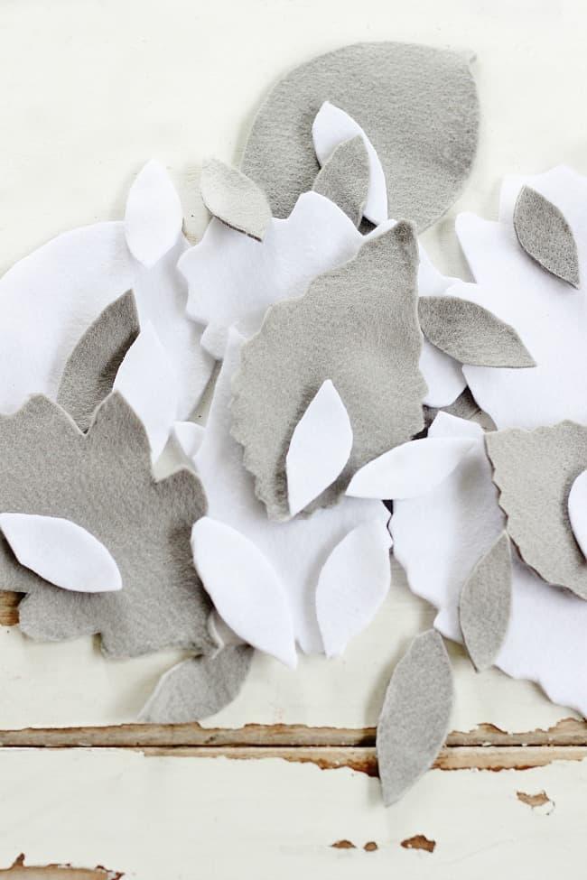 felt-leaves