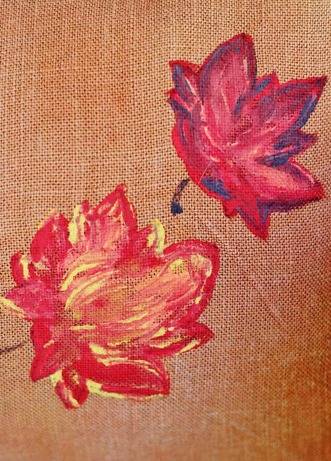 how-to-paint-leaves