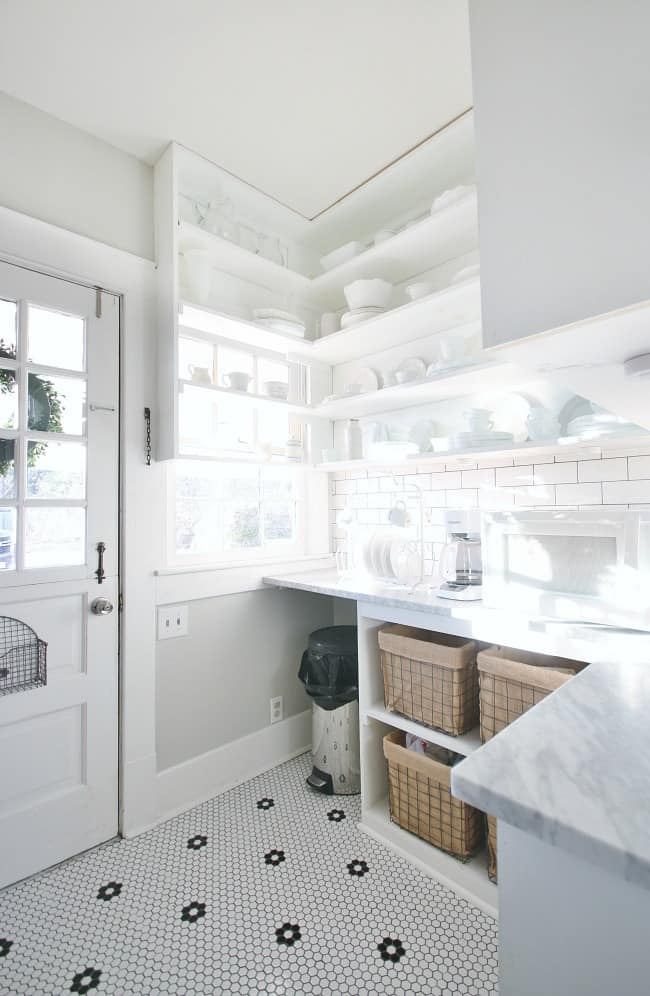 Newly updated laundry room and butler's pantry- isn't it great?