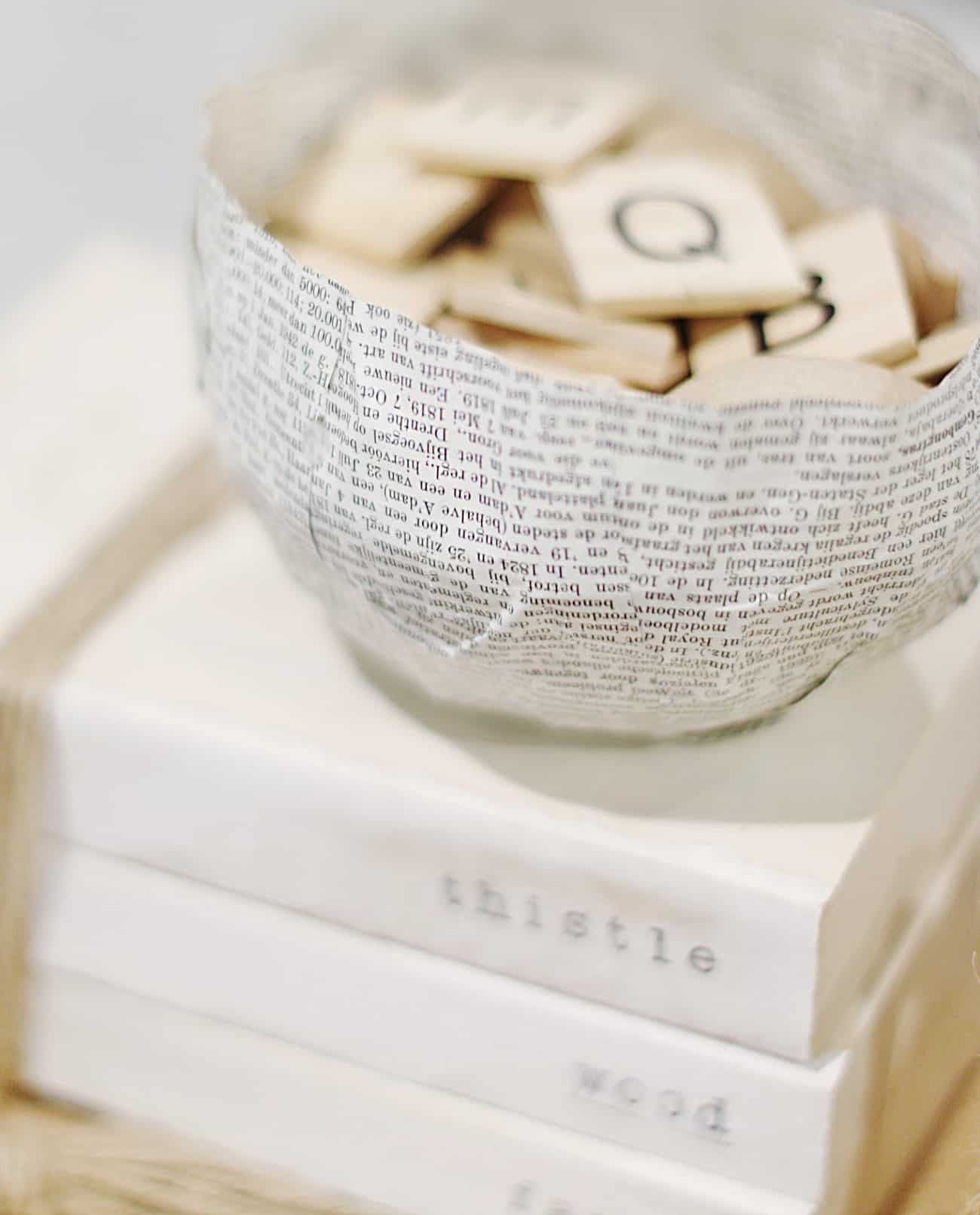 how to make a paper bowl