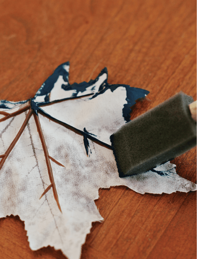 simple fall craft leaf