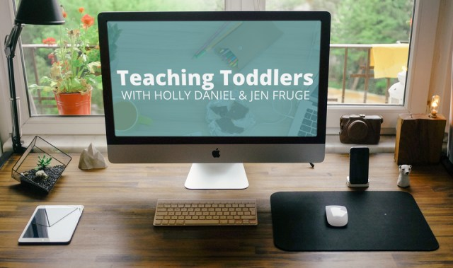 Teaching Toddlers is a ecourse that will help transform your toddler into a preschooler.