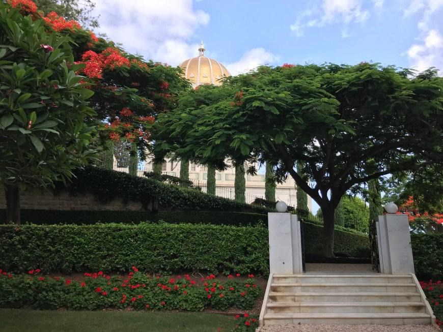 Shrine of the Bab, Baha'i Gardens