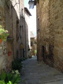 Anghiari alleyway