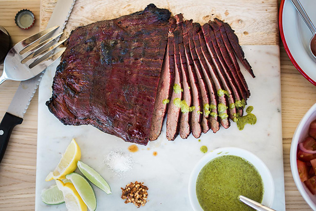 Recipe For Smoke N Grill Flank Steak By Christian Wallin For This Week For Dinner