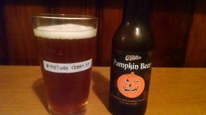 O'Fallon Pumpkin Beer