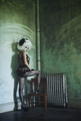 Model: Christine Alward Hair: Stacey Barton Mua: Cesar Rivera Mua Costume Atomic Stitches Hair piece: Taissa Lada