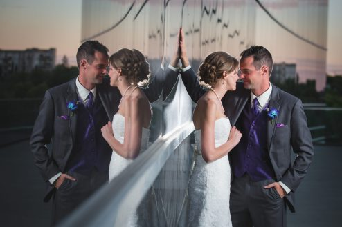 Wedding Photographers in Edmonton - Shaw Conference Centre