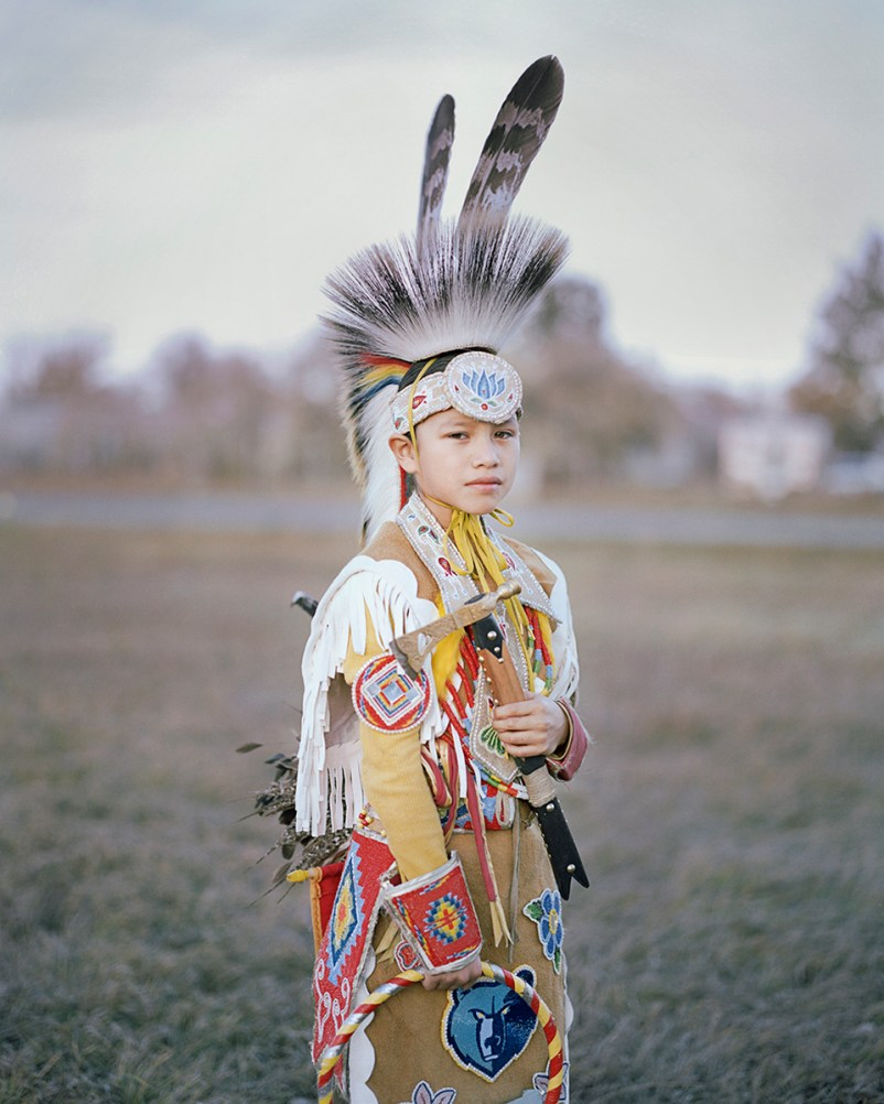 Stephen during the Veterans Powwow do honor all warriors. A Powwow is a traditional gathering to meet, dance and sing. There are over 450 veterans in Fort Belknap, by 2800 people living there.