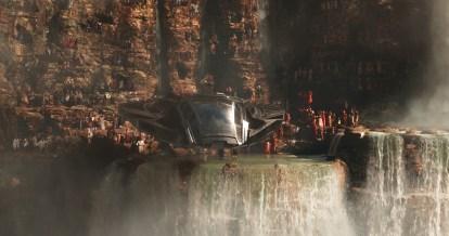 Marvel Studios' BLACK PANTHER..Royal Talon Fighter..Ph: Film Frame..©Marvel Studios 2018