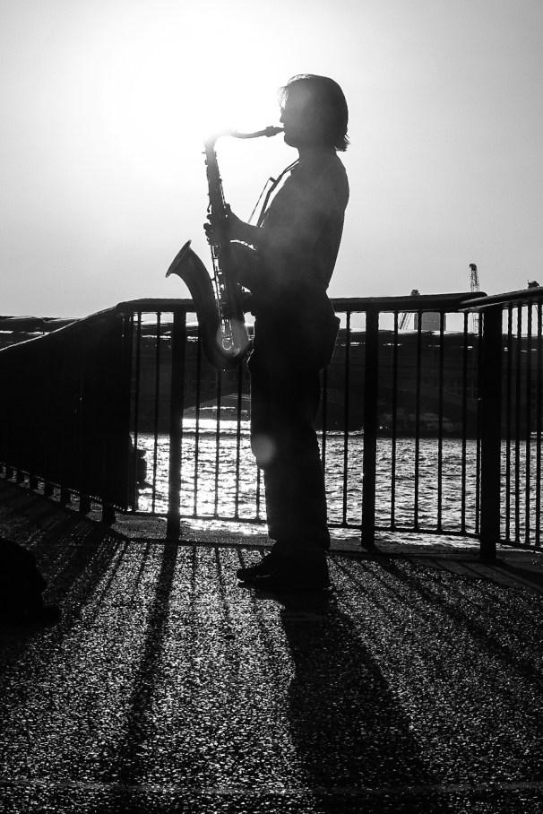 11 - Joe J - Silhouete Saxophone