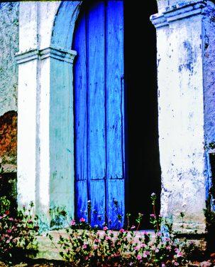 Blue Door, Ajoya Mexico